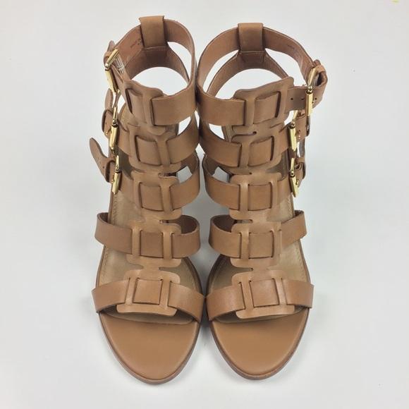 6077774aa61 Steve Madden Ninna Caged Block Heel Sandals (NEW)